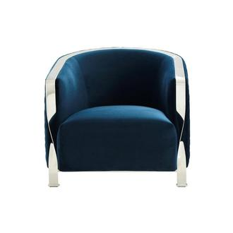 Maxi Blue Accent Chair