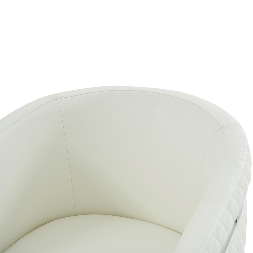 Anastasia White Accent Chair  alternate image, 5 of 7 images.