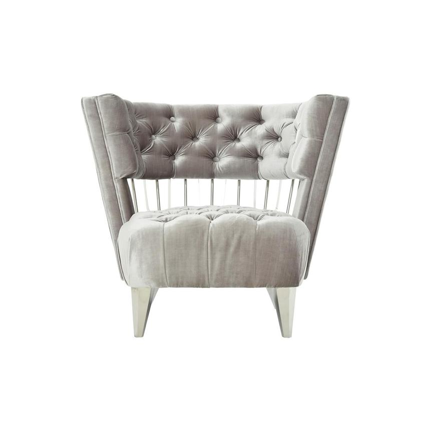 Brody Gray Accent Chair  main image, 1 of 9 images.