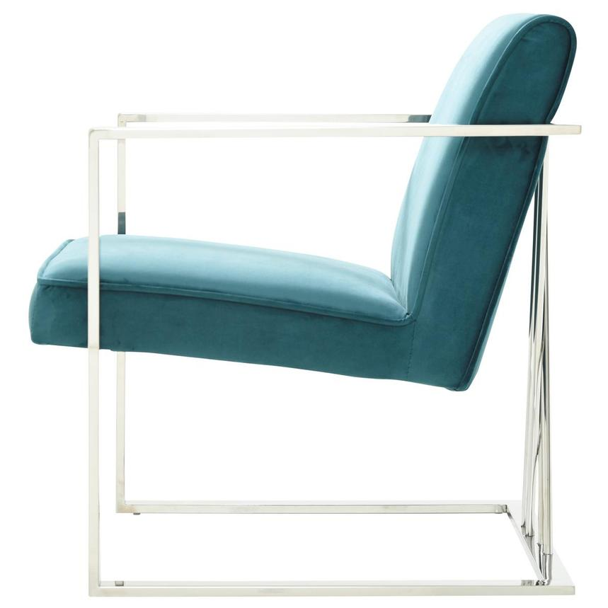 Fairmont Teal Accent Chair  alternate image, 4 of 7 images.