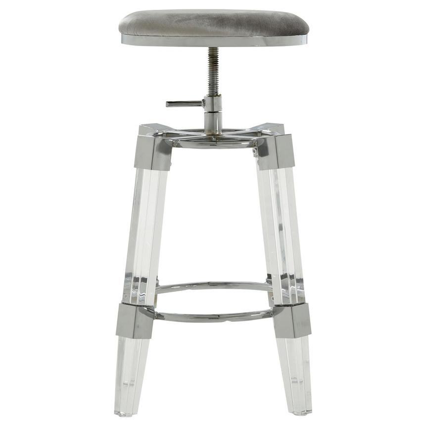Julie Silver Adjustable Stool  alternate image, 2 of 3 images.