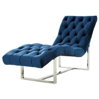 Dubai Blue Chaise