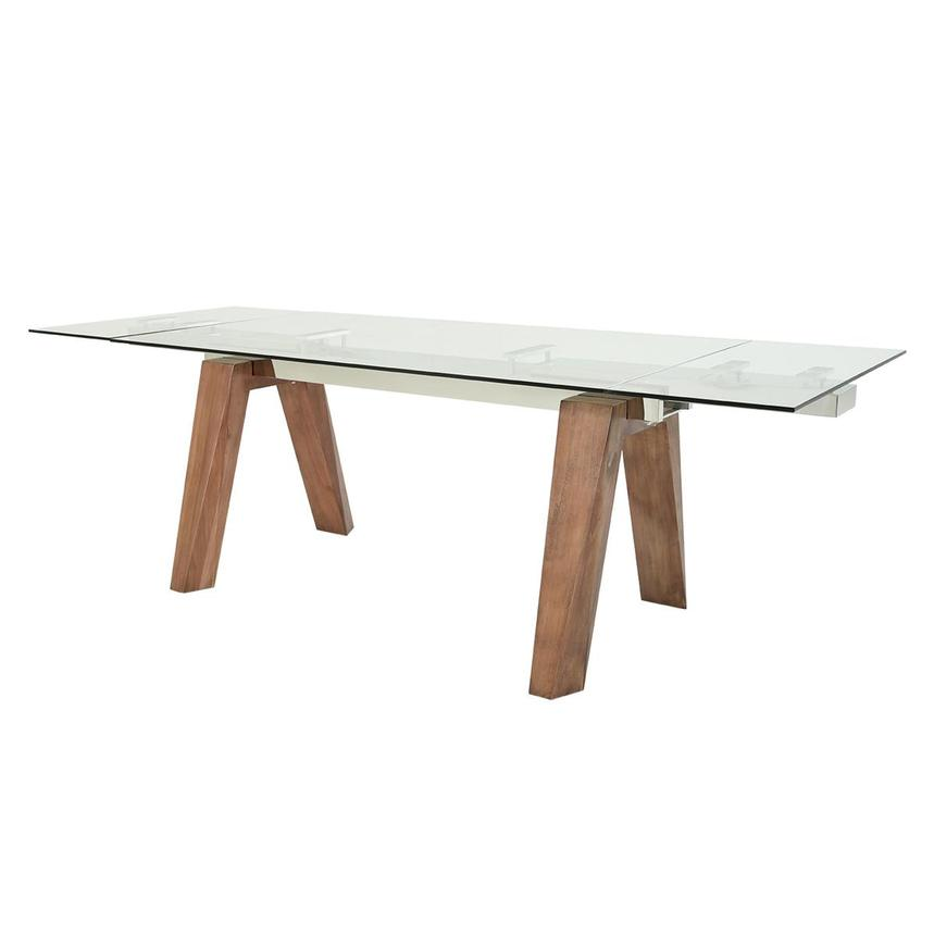 Valencia Walnut Extendable Dining Table  main image, 1 of 9 images.