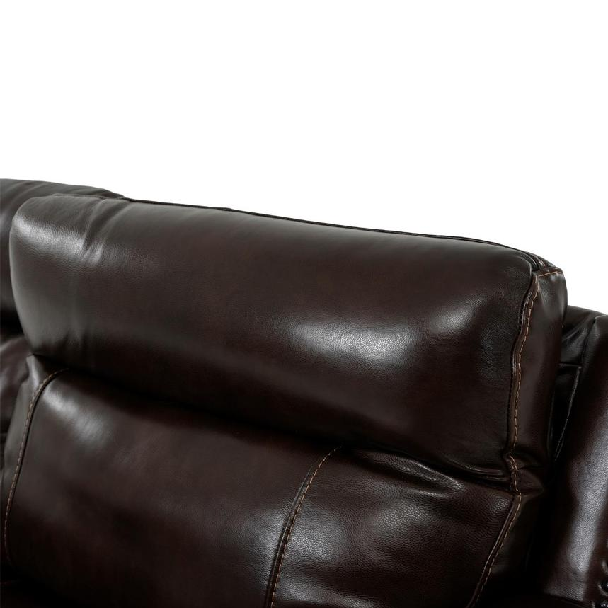 Billy Joe Leather Power Reclining Sectional  alternate image, 6 of 12 images.