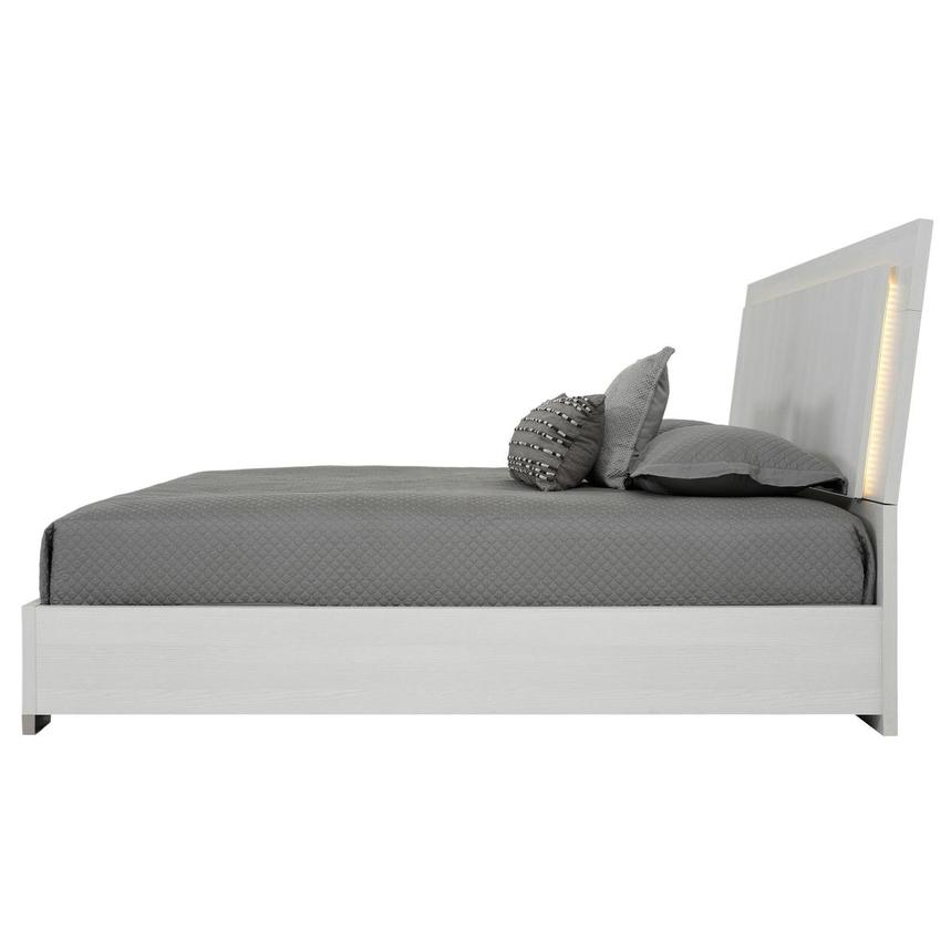 Tivo White Queen Platform Bed  alternate image, 3 of 6 images.