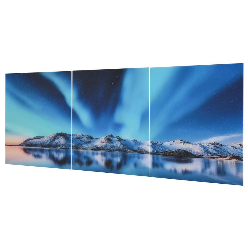 Northern Lights Set of 3 Acrylic Wall Art  alternate image, 2 of 5 images.