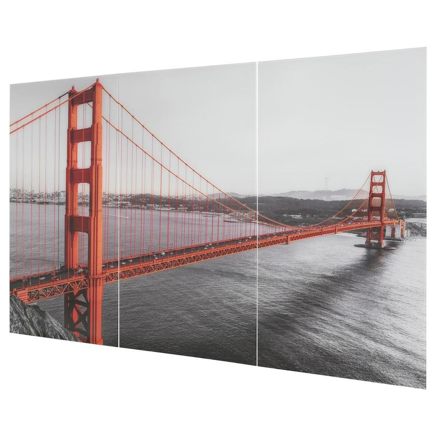 San Fran Set of 3 Acrylic Wall Art  alternate image, 2 of 5 images.