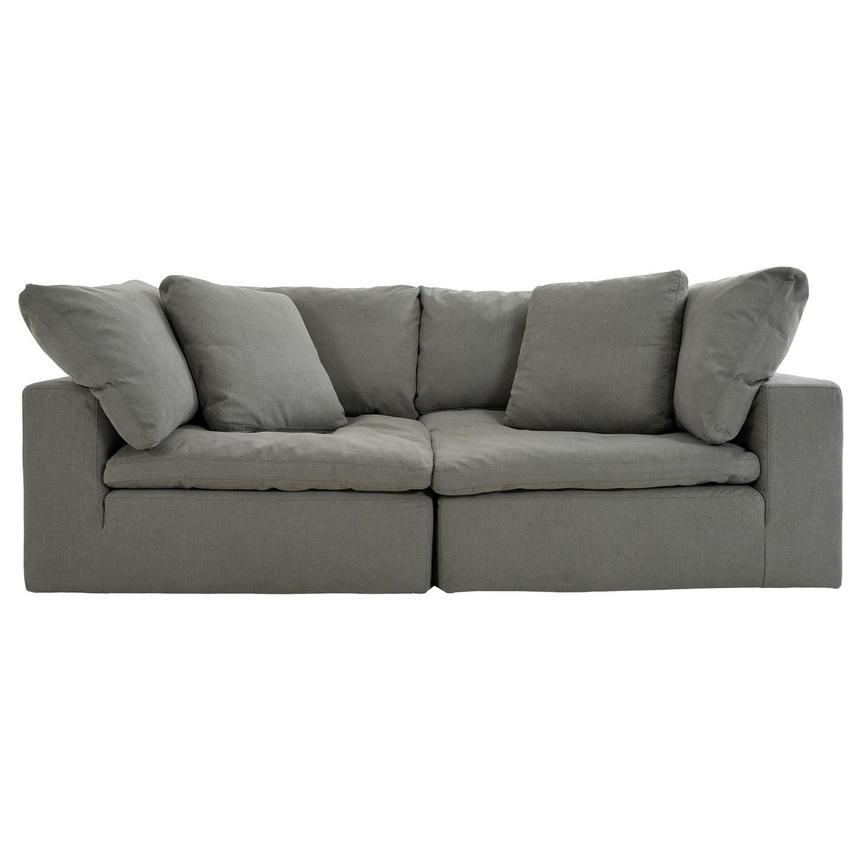 Nube Ii Gray Sofa El Dorado Furniture
