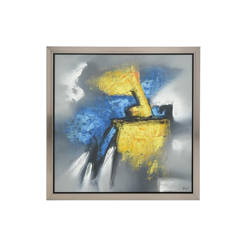 Azzurro Canvas Wall Art  main image, 1 of 4 images.