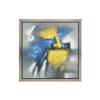 Azzurro Canvas Wall Art