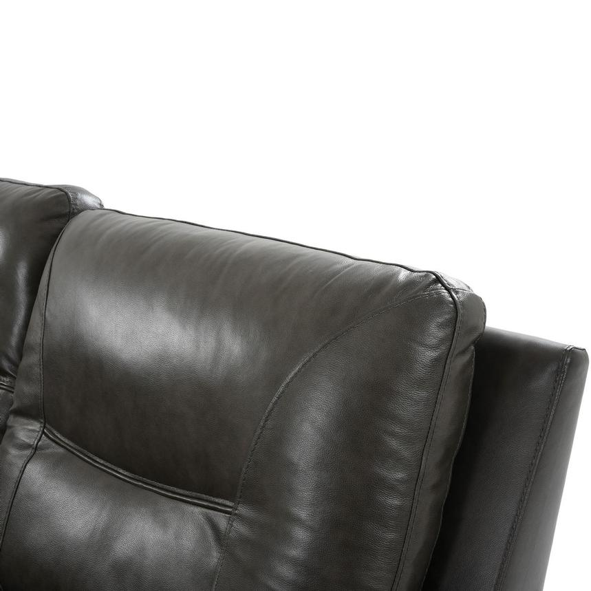 London Leather Power Reclining Sectional  alternate image, 6 of 9 images.