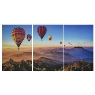 Chiang Mai Set of 3 Acrylic Wall Art