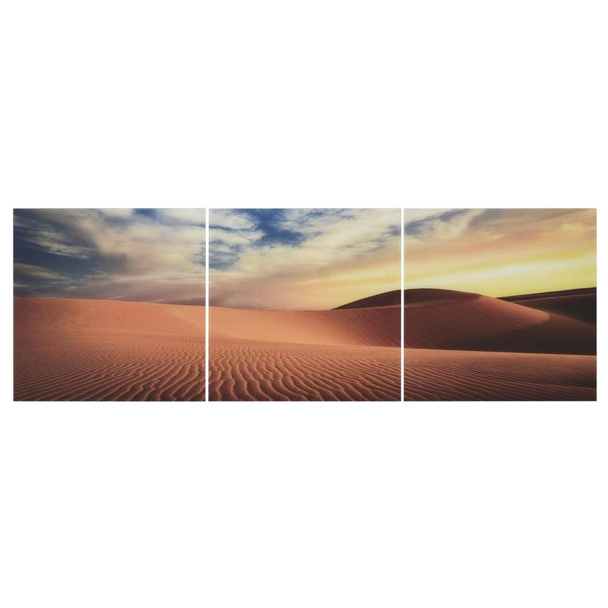 Sahara Set of 3 Acrylic Wall Art  main image, 1 of 4 images.