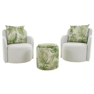 Joey Green 5-Piece Living Set