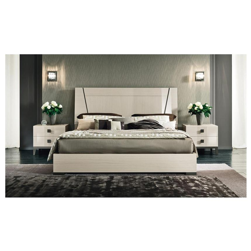 Mont Blanc Gray 4-Piece King Bedroom Set  alternate image, 2 of 9 images.