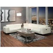 Anchi Leather Power Reclining Sectional  alternate image, 2 of 10 images.
