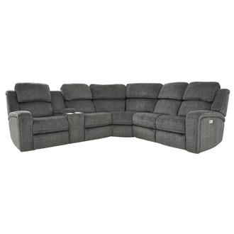 Vivienne Power Reclining Sofa w/Console