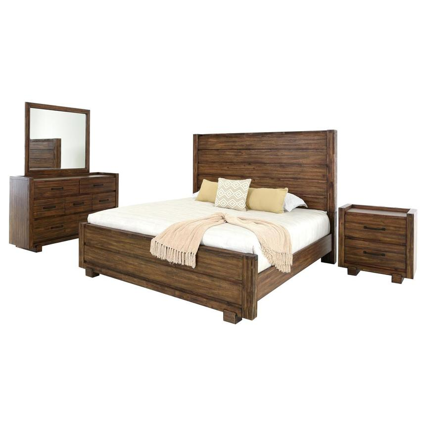 Aspen 4-Piece Queen Bedroom Set  main image, 1 of 6 images.