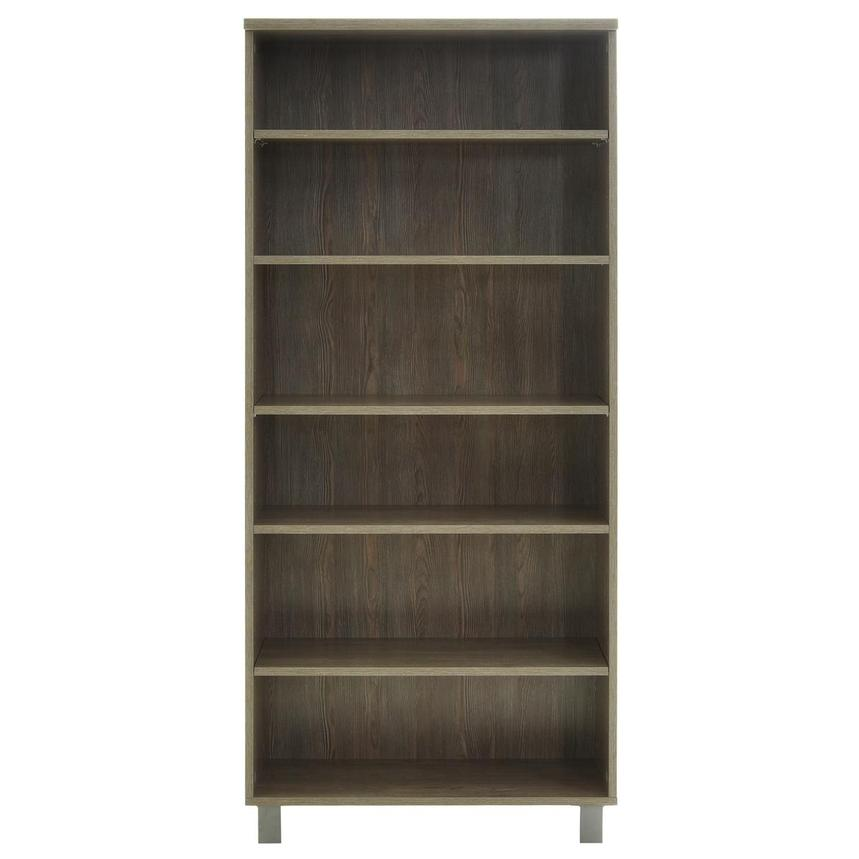 Flavia Gray Bookcase  main image, 1 of 7 images.