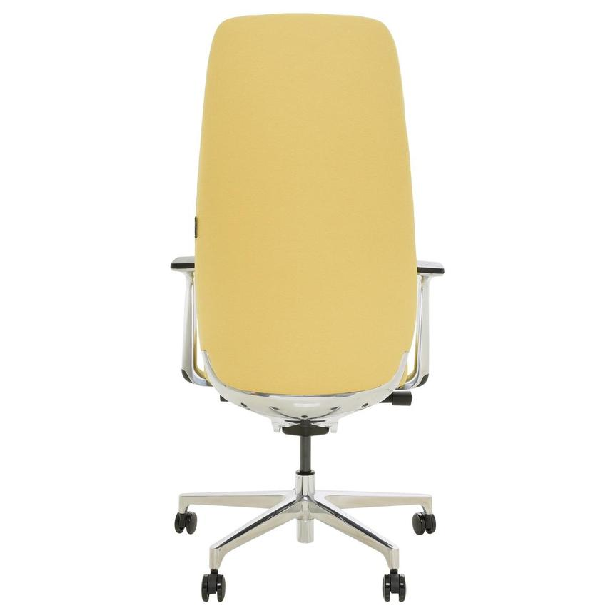 Pepe Yellow High Back Desk Chair  alternate image, 5 of 10 images.