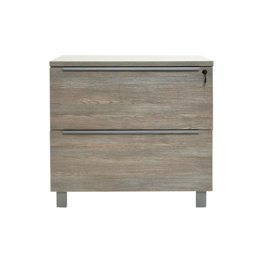Flavia Gray Lateral File Cabinet  main image, 1 of 10 images.