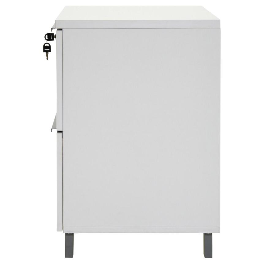 Flavia White Lateral File Cabinet  alternate image, 6 of 10 images.