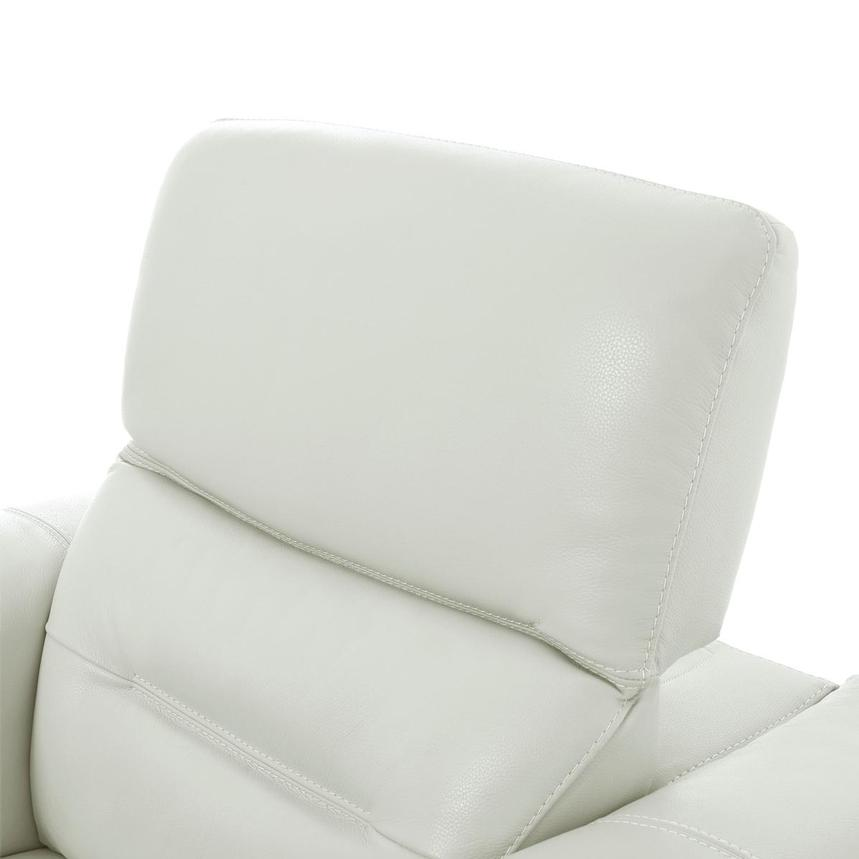 Anabel White Leather Chair  alternate image, 6 of 11 images.