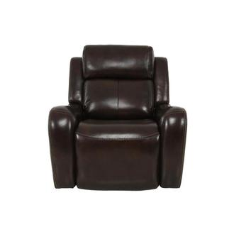 Jake Brown Leather Power Recliner
