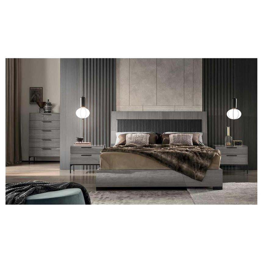 Modena Queen Platform Bed  alternate image, 3 of 10 images.