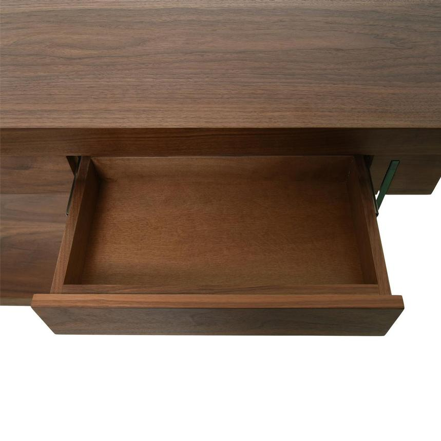 Cherish Walnut L-Shaped Desk  alternate image, 11 of 12 images.
