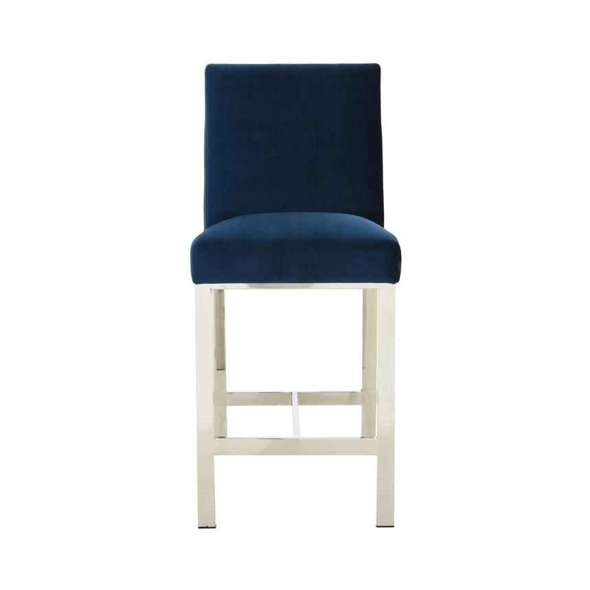 Wellington II Blue Counter Stool  main image, 1 of 8 images.