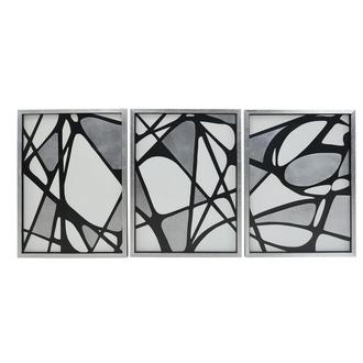 Bianco E Nero Set of 3 Shadow Boxes