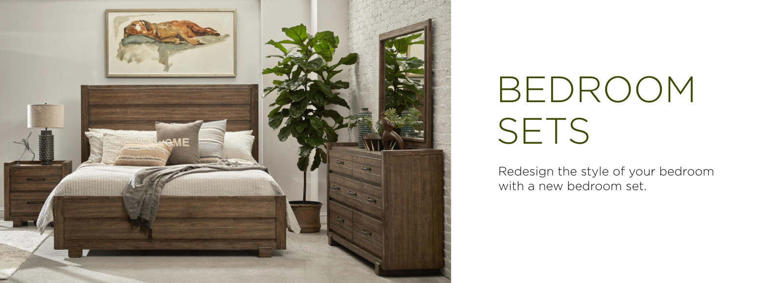 Bedroom sets. Find a new bedroom set to take over the design of your bedroom with incredible savings.