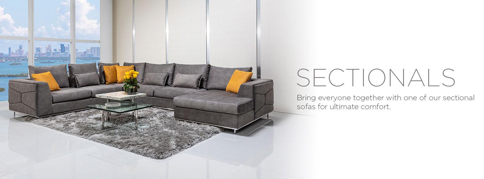 Living Rooms Sectional Sofas El Dorado Furniture