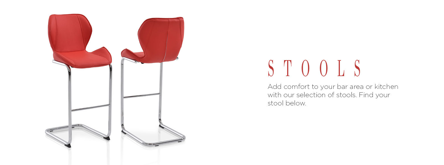 Stools. Add comfort to your bar area or kitchen with our selection of stools. Find your stool below.